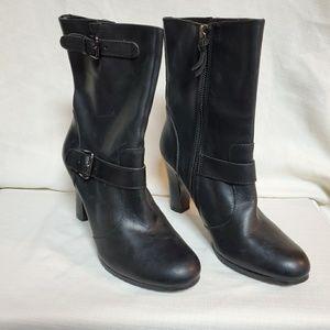 LOFT Black Ankle Boots 6 #1336